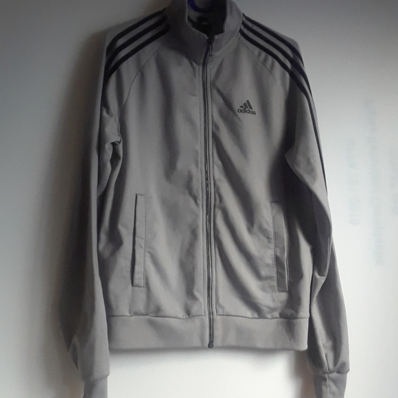 Adidas Men/'s Essential Full Zip Track Jacket Pick A Size And Colors